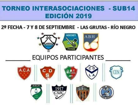 Hockey Femenino - 3 equipos de nuestra Federación Sub 14 viajan a Las Grutas.