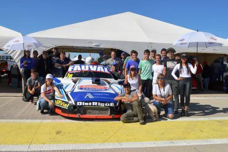 Supercar Pampeano - Ezequiel Albero se mantiene 3° en el campeonato.