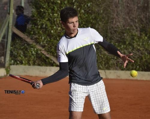 Tenis - Gianfranco Germinara ganó en Coronel Suárez un torneo de Sub16,