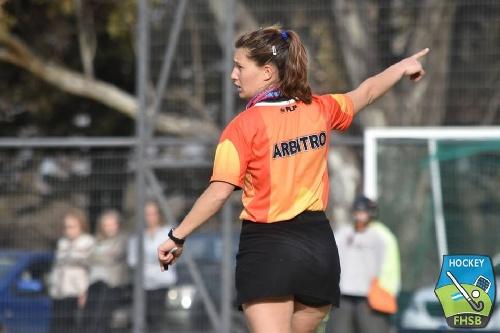 Hockey - Leonela Vallejos será árbitro en el Provincial de Ascenso.