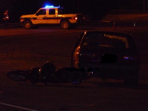 Pigüé accidente fatal en  Avda. Martinez de Hoz