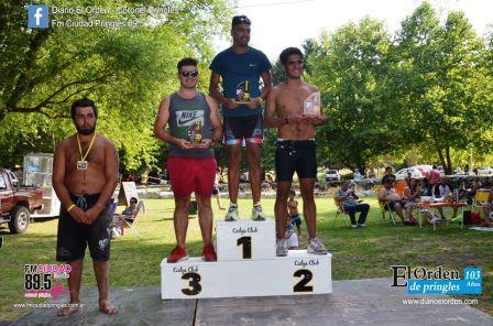 Triatlon - Coronel Pringles - Ayrton Tabares 2° en su categoría.