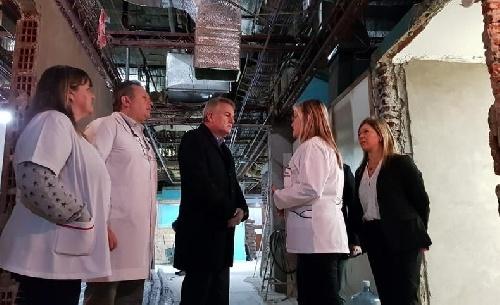 Avanzan obras en el Hospital Interzonal Penna de Bahia Blanca y se espera sumar médicos