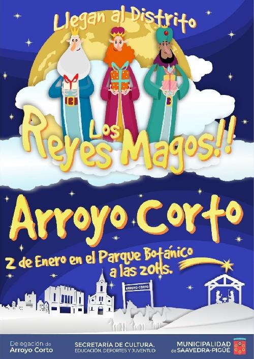 ARROYO CORTO: HOY PASAN LOS REYES MAGOS