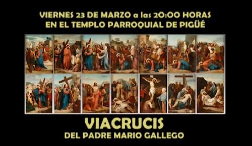 Pigüé: Viacrucis con músicos locales en el Templo Parroquial