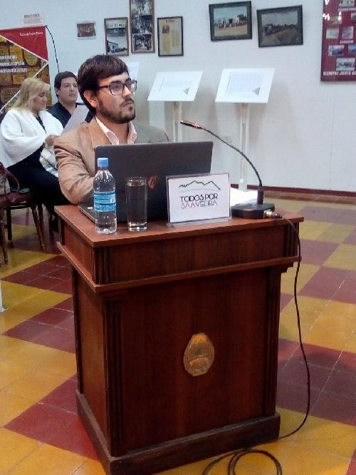 El concejal Matias Nebot respondió a criticas por su voto del ejecutado 2017 junto al Bloque U. Peronista y su reunión previa con Corvatta