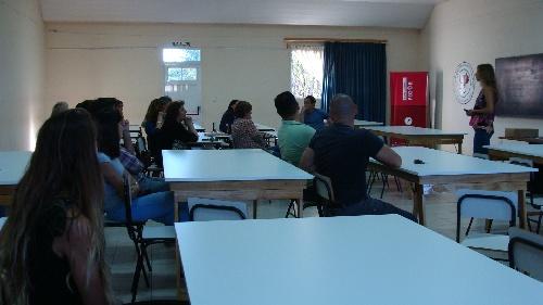 Se realizó una disertación sobre la carrera Desarrollo Local en la Upso