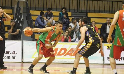 Basquet Santa Fe - Ceci de Gobernador Galvez derrotó a El Trebolense - 6 puntos de Biscaychipy.