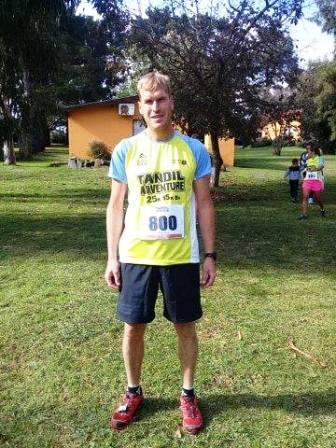Atletismo - Franco Aguilar finalizó 8° en la prueba Adventure Tandil.