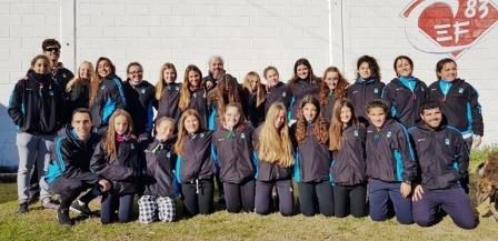 Hockey Femenino - El Sub 14 de la Federación partió a Bahía Blanca a disputar el Torneo Regional.
