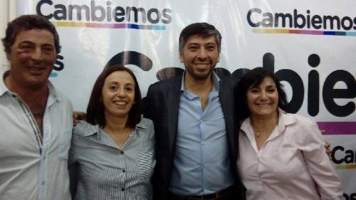 Candidatos de Cambiemos con el Director pcial. de Consejos Escolares