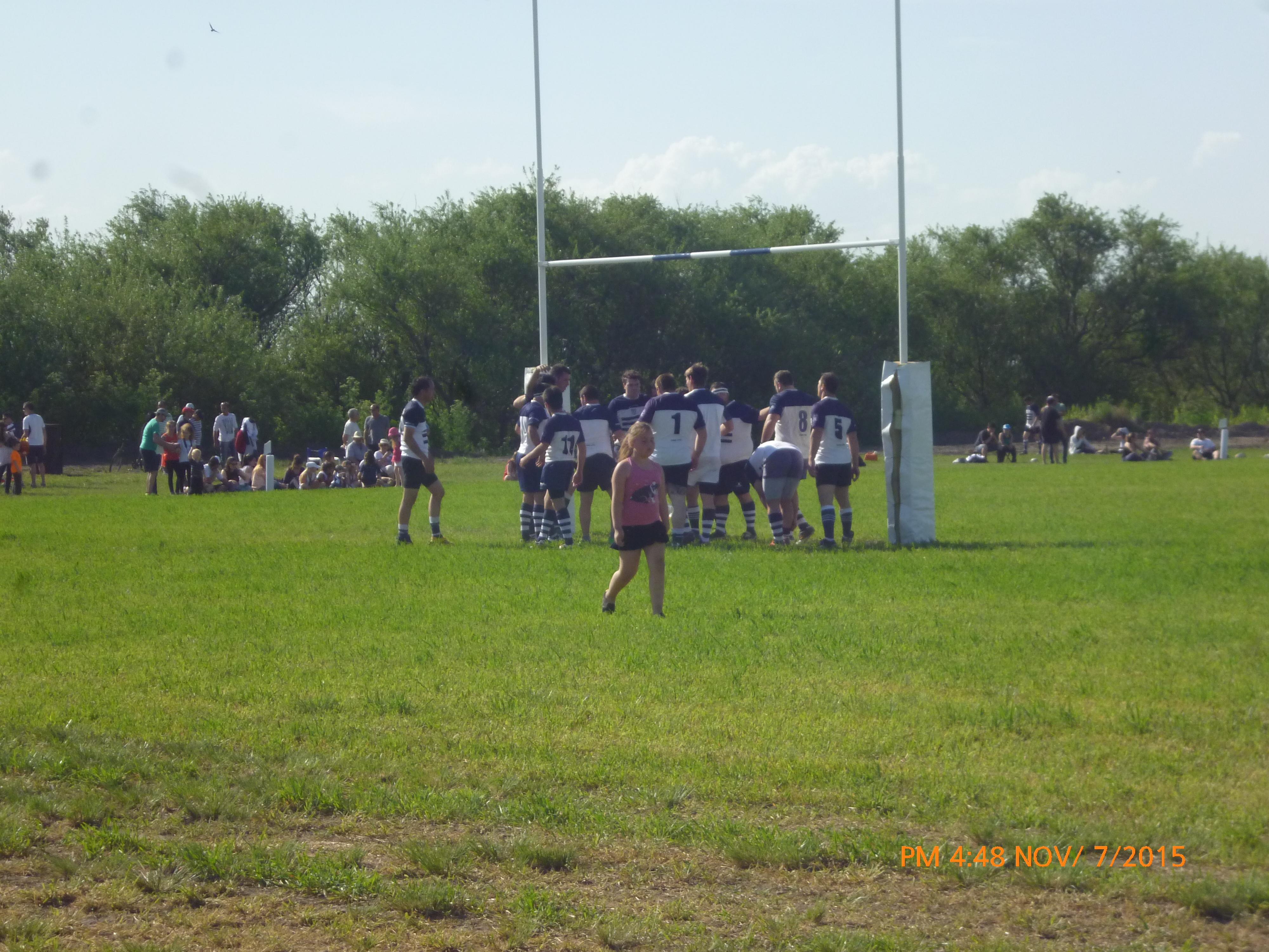 Rugby Local - Inauguración Campo de Juego Club Sarmiento.