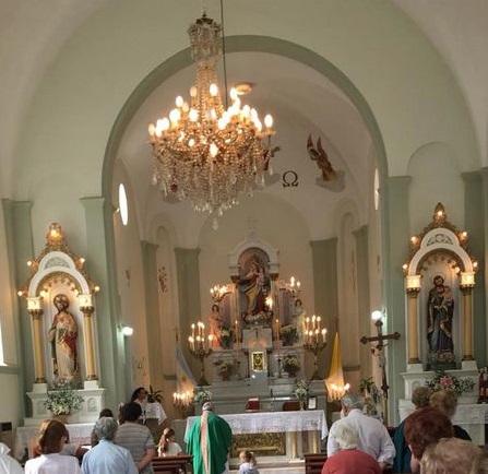 Santa Misa en Arroyo Corto