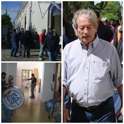 PARO ENCUBIERTO Y AFECTACIÓN DE SERVICIOS EN EL DISTRITO DE SAAVEDRA PIGÜÉ