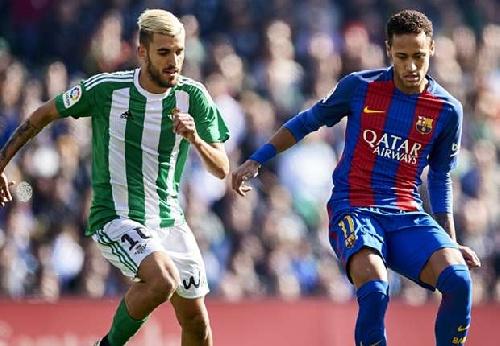 El Betis sorprendió dominando a Barcelona con un empate que debió ser mas.