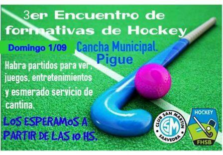 Hockey - Encuentro de formativas en el Parque Municipal de nuestra ciudad.