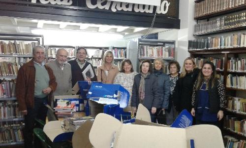 Más de 300 libros para la Biblioteca Popular Sarmiento de Pigüé