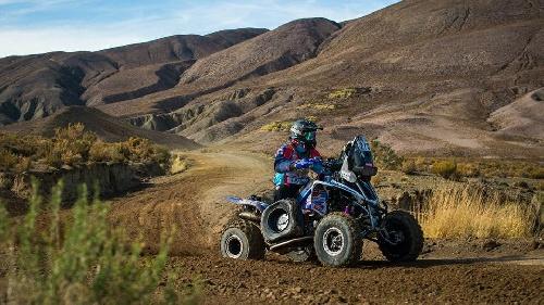 El bahiense Gustavo Gallego tuvo problemas en su cuatriciclo en la 7ma etapa del Rally Dakar.
