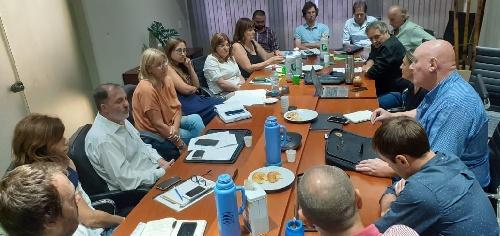 El Secretario de Desarrollo Económico Fermín Tarayre en la reunión del Consejo Regional del Sudoeste