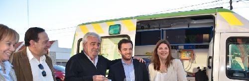 El Ministro de Salud de la Provincia de Buenos Aires en Pigüé