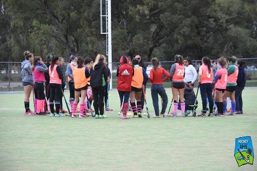 Hockey Femenino - Las preselecciones del SudOeste entrenaron en nuestra ciudad.