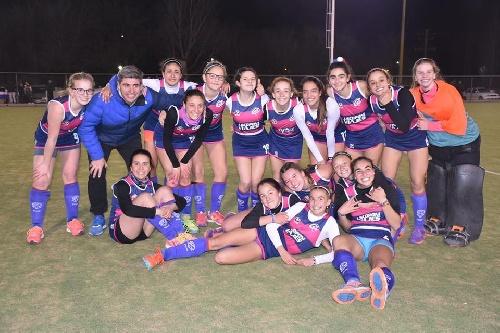 Hockey Femenino - Sub 16 - Sarmiento y Cef 83 son finalistas.