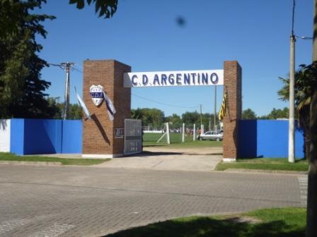 LRF - 1ra División -Deportivo Argentino en su cancha recibe a San Martín de Carhué el domingo desde las 14 hs.