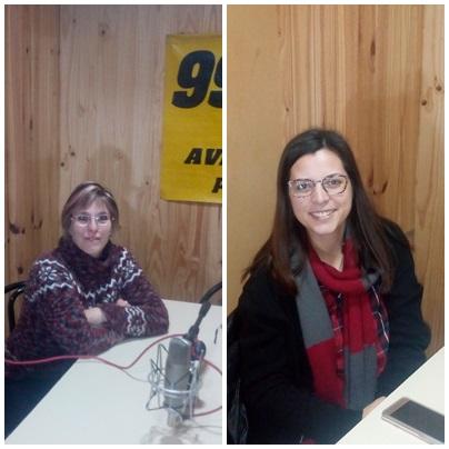 TODOS POR SAAVEDRA : Micaela Cellucci y Mirna Cabrelles