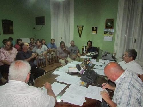 LRF - En la reunión de Liga definieron detalles de los cruces.
