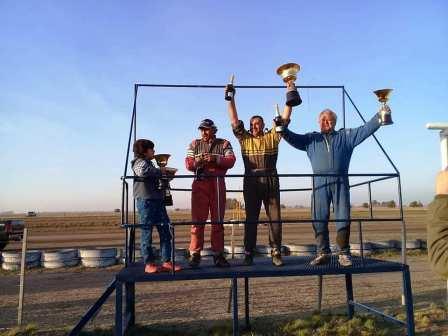 TC Pampeano - Nelson Montes finalizó 2° en Ingeniero Thompson.
