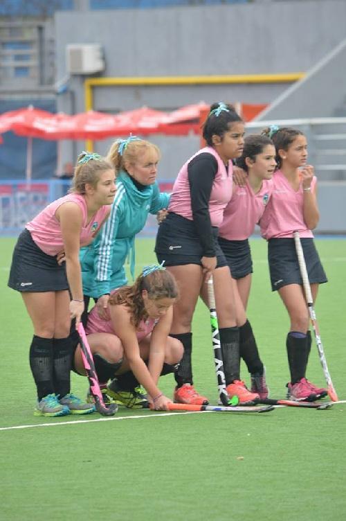 Hockey Femenino Sub 14 - Sud Oeste A y un meritorio 4° puesto. Sexta posición para el SO B.