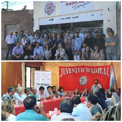 UCR : fuerte respaldo a Daniel Salvador del nuevo Comité de la Sexta Sección de la Provincia de Buenos Aires