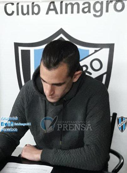 Nacional B - Finalmente Marcos Litre firmó con Almagro.