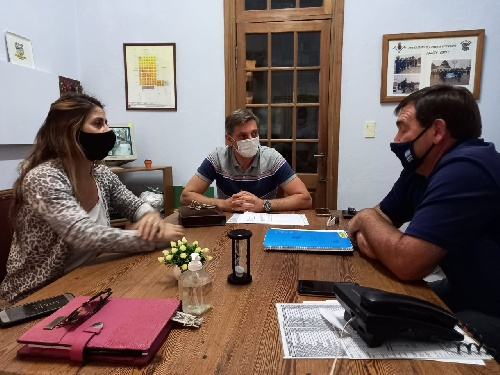 El Intendente se reunió en Arroyo Corto por el cambio de Delegado de la localidad