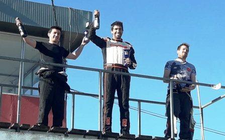 Karting - Gómez Fredes se adjudicó todos los podios en el Ciudad de Pigüé.