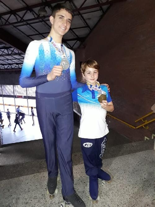 El joven saavedrense Rodriguez Campeón panamericano de patin