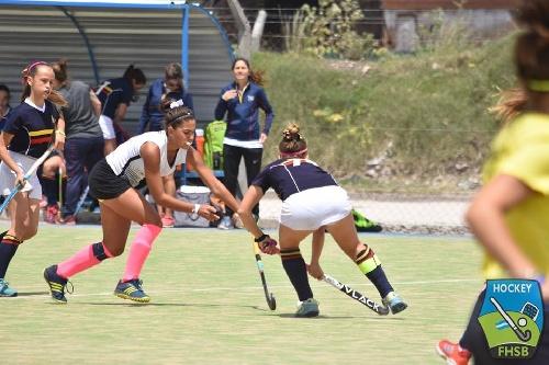 Hockey Femenino Sub 14 - Sarmiento debutó en el provincial de Mar del Plata.