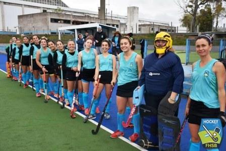 Hockey Femenino - Las chicas del Sudoeste completaron su juego ante Oeste y enfrentaron a Tandil.