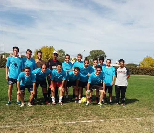 Tiro pigüé triunfó en Coronel Suarez en torneo de futbol 9