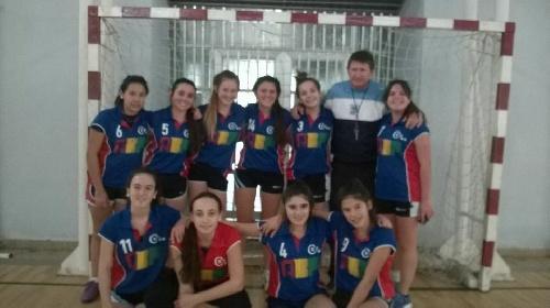 Nacional de Clubes Menores C Handball - Victoria del Cef 83 en su primera presentación en San Juan.