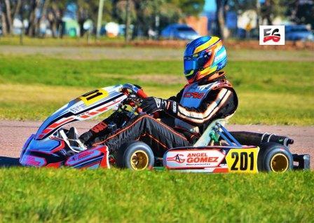 Karting - Fernando Gómez Fredes lidera la Sudam Master corridas 4 fechas.