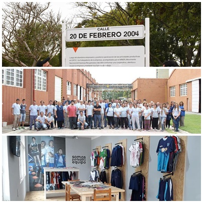 La Cooperativa de Trabajo Textiles Pigüé celebró su 14º aniversario con un acto y duras críticas  al gobierno de Cambiemos