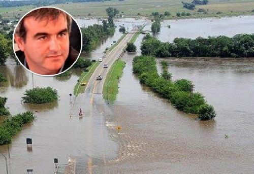 FOTOS NO, OCULTAR IMÁGENES ES LA CUESTION:  El intendente de Areco no quiere que suban fotos de las inundaciones