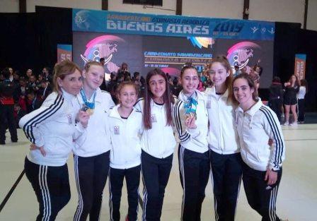 Le Corps Gym y su participación final en el Panamericano de Buenos Aires.