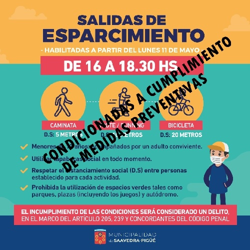 SALIDAS RECREATIVAS CON AUTORIZACIÓN CONDICIONADA