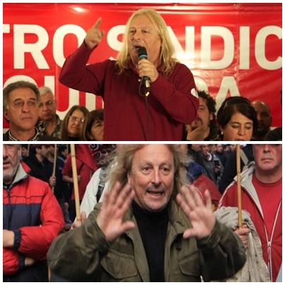 """Del sindicalista Pollo Sobrero: """"Vamos a seguir empujando hasta que caiga el Gobierno"""""""