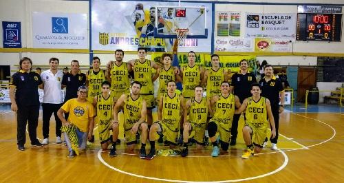 Basquet Santa Fe- Ceci BC con 15 tantos de Biscaychipi recibió a Rafaela.