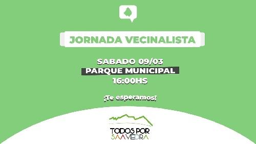 Jornada de la agrupación politica vecinalista Todos por Saavedra