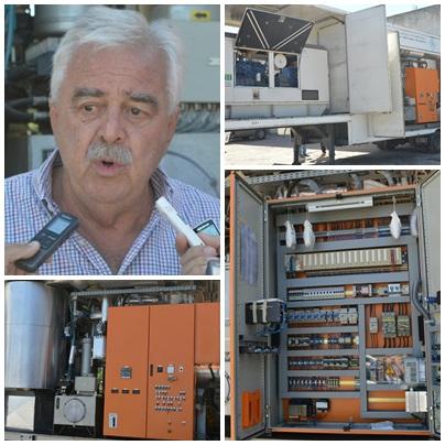 El intendente Corvatta presentó  la planta de tratamiento de residuos hospitalarios