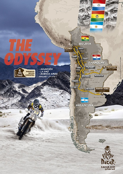 Rally Dakar 2017 - A siete días para el comienzo de una nueva odisea que recorrerá tres países.